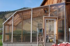 greenhouse adn fan