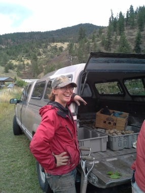 Tracy and the truck