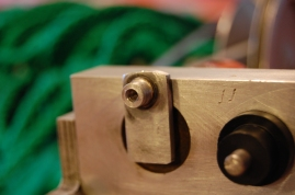 Cam arm peg for the bearing.
